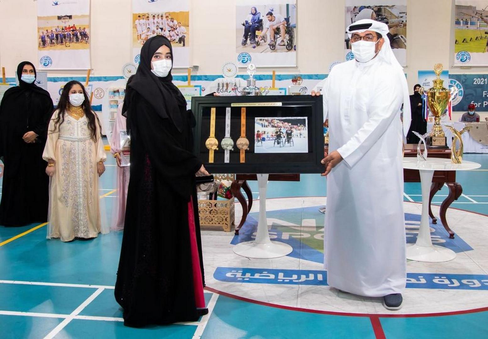 لطيفة بنت حمدان: أتطلع لزيارة أصحاب الهمم مرة أخرى متمنية لهم المزيد من النجاحات والازدهار