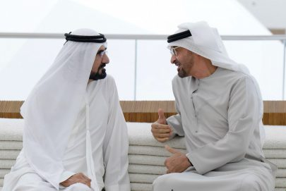 محمد بن راشد ومحمد بن زايد يشيدان بما يضمه