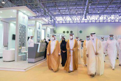 """سالم بن عبد الرحمن القاسمي يفتتح فعاليات معرضي """"الوطني للتوظيف"""" و""""التعليم الدولي"""""""