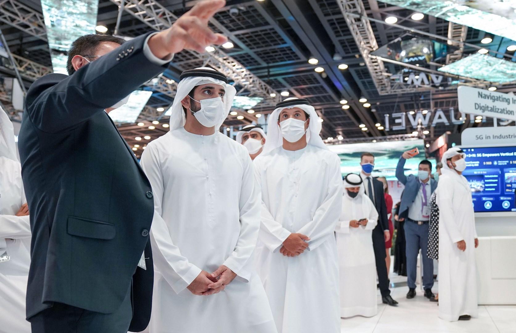 حمدان بن محمد: برؤية محمد بن راشد نرسّخ شراكة دبي مع كبرى المؤسسات العالمية الرائدة في التكنولوجيا