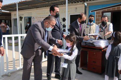 محافظ أربيل يشيد بالمساعدات الإماراتية ودعم التعليم في الإقليم