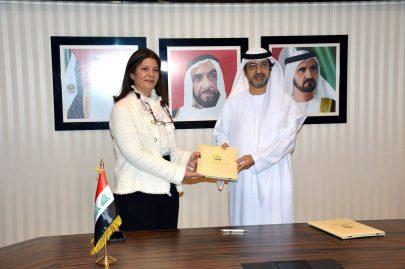 الإمارات والعراق توقعان اتفاقية حماية وتشجيع الاستثمار