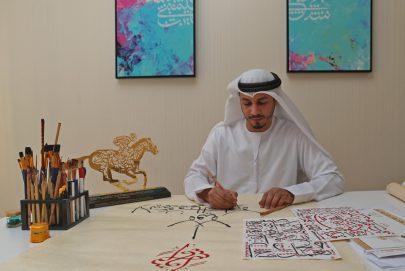 هواوي تتعاون مع الفنان الإماراتي محمود العبادي للترويج للتراث الثقافي في الشرق الأوسط